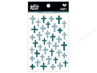 Bella Blvd Collection Illustrated Faith Basics Sticker Puffy Mix Crosses Oh My Heavens