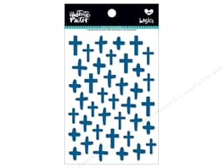 Bella Blvd Collection Illustrated Faith Basics Sticker Puffy Crosses Mrs Blueberry