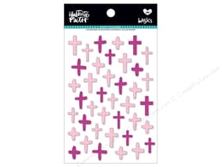 Bella Blvd Collection Illustrated Faith Basics Sticker Puffy Mix Crosses Bless Her Heart
