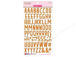 Bella Blvd Collection Wonky Sticker Puffy Alpha Orange
