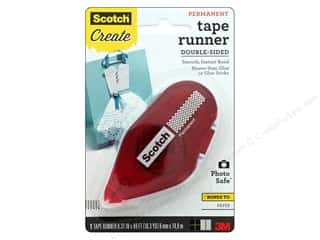 glues, adhesives & tapes: Scotch Tape Runner Double Sided Permanent 49'