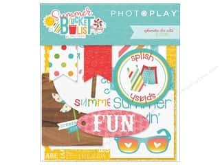 die cuts: Photo Play Collection Summer Bucket List Ephemera Die Cuts