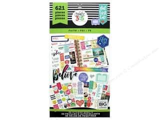 Me&My Big Ideas Create 365 Happy Planner Sticker Value Pack Classic Faith