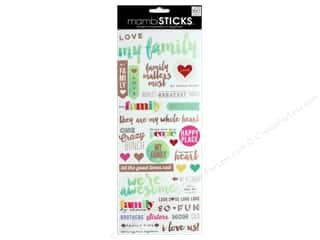 Me&My Big Ideas Sticker Sticks Specialty Love My Family