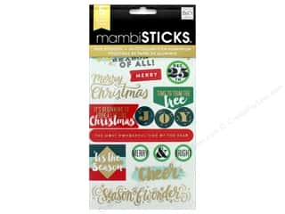 scrapbooking & paper crafts: Me&My Big Ideas Sticker Sticks Holiday Big City