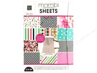 White cardstock: Me & My Big Ideas Sheets 18 3/8 x 25 13/16 in. Paper Pad Vertical Peony