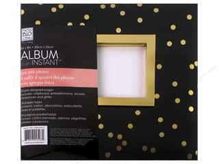 "sticker: Me&My Big Ideas Album Kit In An Instant 8""x 8"" Gold Leaf"