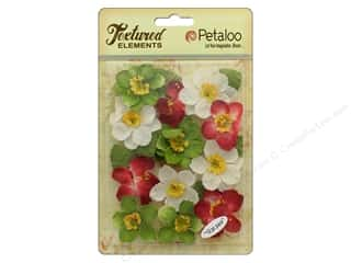 Petaloo Textured Elements Briar Rose Canvas Holiday Mix 12pc