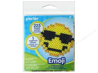 beading & jewelry making supplies: Perler Fused Bead Kit Trial EMOJI 6