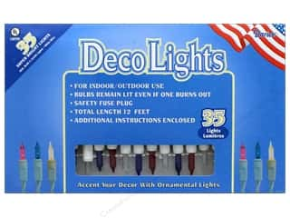 Darice Light Set 35 ct Red/White/Blue