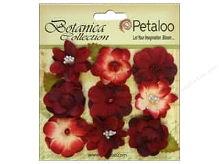 Petaloo Botanica Collection Baby Blooms Red 9pc