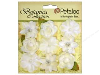 Petaloo Botanica Collection Baby Blooms White 9pc
