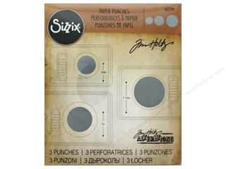 storage : Sizzix Paper Punch Set Tim Holtz Circles 3pc