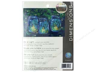 yarn & needlework: Dimensions Cross Stitch Kit 7 in. x 5 in.  Be A Light