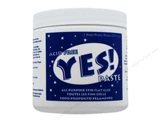 glues, adhesives & tapes: YES Paste Stik Flat Glue 16 oz.