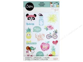 scrapbooking & paper crafts: Sizzix Sticker Katelyn Lizardi Icon 2