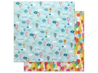 """Bella Blvd Collection Delight In His Day Paper 12""""x 12"""" Raise Me Up (25 pieces)"""