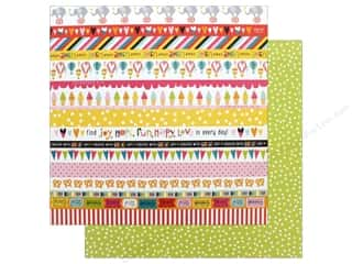 """Bella Blvd Collection Delight In His Day Paper 12""""x 12"""" Borders (25 pieces)"""