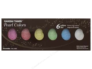 Kuretake Gansai Tambi Watercolors 6 Color Set Pearl