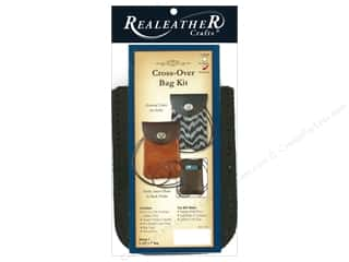 REALEATHER by Silver Creek Kit Cross-Over Bag Brown