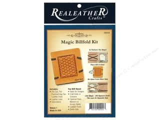 Clearance: REALEATHER by Silver Creek Kit Magic Billfold