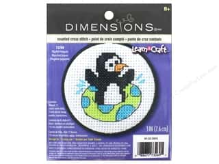 stamps: Dimensions Cross Stitch Kit Playful Penguin