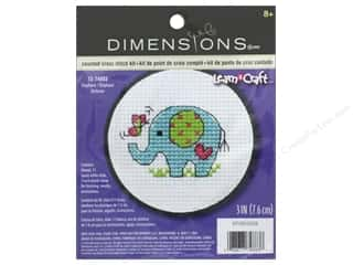 yarn & needlework: Dimensions Cross Stitch Kit Elephant