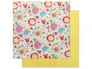 "American Crafts Collection Hello Spring Paper 12""x 12"" Honey Bunny (25 pieces)"