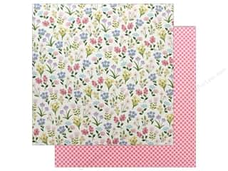 "scrapbooking & paper crafts: Pebbles Collection Tealightful Paper 12""x 12"" Meadow (25 pieces)"