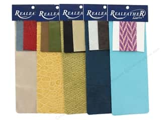 craft & hobbies: REALEATHER by Silver Creek Leather Trim Pack 3pc Assorted
