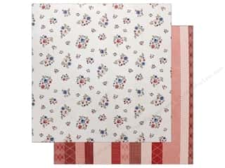 "Pink Paislee Collection Sweet Freedom Paper 12""x 12"" Paper 5"