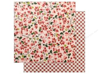 "Pebbles Collection Simple Life Paper 12""x 12"" Bougainvillea (25 pieces)"