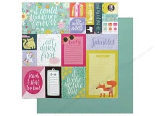 """scrapbooking & paper crafts: Pink Paislee Collection Oh My Heart Paper 12""""x 12"""" Paper 1 (25 pieces)"""