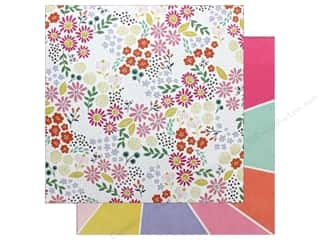 "Pink Paislee Collection Oh My Heart Paper 12""x 12"" Paper 13 (25 pieces)"