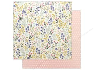 "scrapbooking & paper crafts: Pebbles Collection Simple Life Paper 12""x 12"" Wildflowers (25 pieces)"
