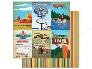 """Carta Bella Collection Are We There Yet Paper 12""""x 12"""" Journal Card 4""""x 6"""""""