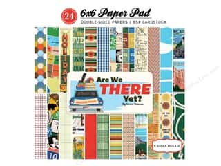 "Carta Bella Collection Are We There Yet Paper Pad 6""x 6"""