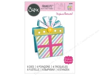 scrapbooking & paper crafts: Sizzix Dies Stephanie Barnard Framelits Fold It Gift