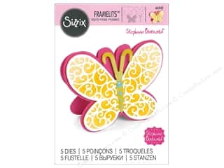 scrapbooking & paper crafts: Sizzix Dies Stephanie Barnard Framelits Fold-Its Butterfly