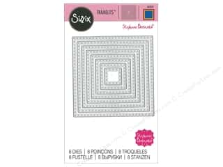 scrapbooking & paper crafts: Sizzix Dies Stephanie Barnard Framelits Dotted Square