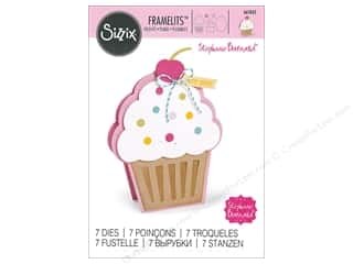 scrapbooking & paper crafts: Sizzix Dies Stephanie Barnard Framelits Fold It Cupcake