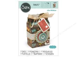 dies: Sizzix Dies Lori Whitlock Thinlits Gable Box