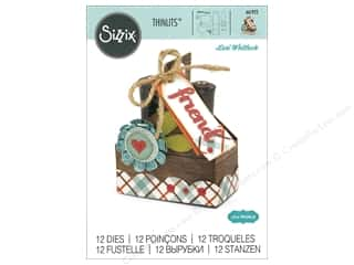 scrapbooking & paper crafts: Sizzix Dies Lori Whitlock Thinlits Double Tote