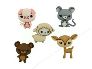 novelties: Jesse James Embellishments Animal Cuties