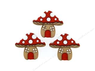 novelties: Jesse James Embellishments Mushroom Houses