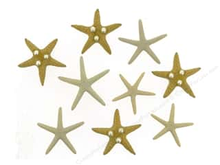 craft & hobbies: Jesse James Embellishments Starfish Wishes