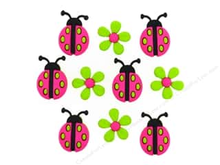 craft & hobbies: Jesse James Embellishments Ladybug Crossing