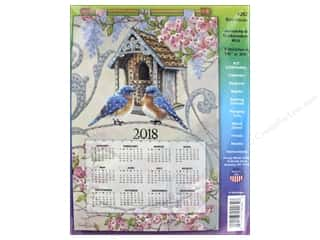 Design Works Felt Kit Sequin Calendar 2018 Birdhouse