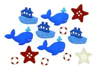 novelties: Jesse James Embellishments - Ahoy Baby