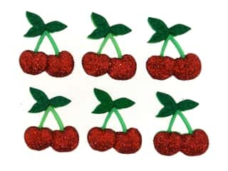 novelties: Jesse James Embellishments - Cherries